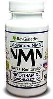 RevGenetics NAD+ NAD Plus NMN™: 50 mg Nicotinamide Mononucleotide - Restoration