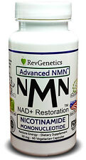 RevGenetics Advanced NMN™: 50 mg Nicotinamide Mononucleotide - Restore Energy Di