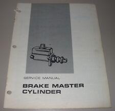 Service Manual Caterpillar Gabelstapler Brake Master Cylinder B-10 B-12 B-24
