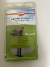 Kaytee Super Pet Silver Comfort Harness W/Stretchy Stroller Medium New