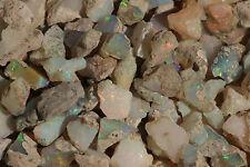 10 cts - Lot d'opales welo hydrophane brut / rough - Ethiopie, mine run - vidéo