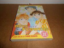 Boys Over Flowers Hana Yori Dango Vol. 32 Manga Graphic Novel Book in English