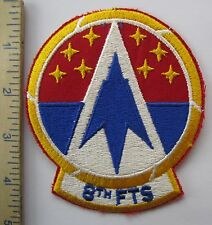 8th FLYING TRAINING SQUADRON - ORIGINAL Vintage USAF U.S. AIR FORCE PATCH