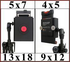 4x5 (9x12 cm) Pinhole Camera or 5x7 (13x18 cm) Pinhole Camera.