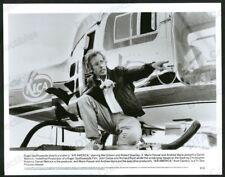 AIR AMERICA-8X10 B&W PHOTO-DIRECTOR ROGER SPOTTISWOODE FN