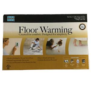 Laticrete Electric Floor Warming Kit Radiant Heat Mat System, 30 Sq ft, 120V