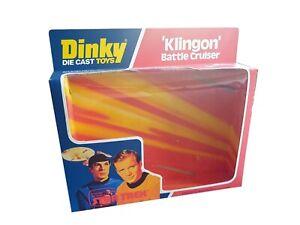 Dinky Toys 357 Star Trek Klingon Battle Cruiser Repro Box