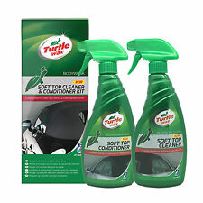 Turtle Wax Soft Top & Cabriolet Convertible System Roof Cleaner & Conditioner