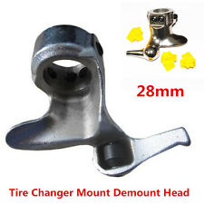 Motorcycle 28mm Tire Changer Cast Steel Mount Demount Duck Head Protector+3 Pads