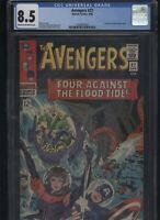 Avengers #27 CGC 8.5 - Jack Kirby STAN LEE Don Heck 1966