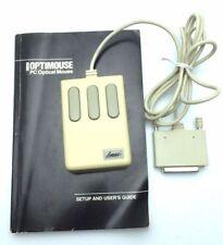 Vintage Optical Laser Mouse Systems Mouse CA24146 M4 Parallel 3 buttons TECH0194