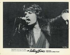 MICK JAGGER LADIES AND GENTLEMEN THE ROLLING STONES 1973 PHOTO ORIGINAL #4