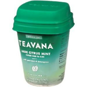 Teavana Tea Sachets Jade Citrus Mint Green Tea