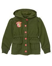 NWT Gymboree Friendship Camp Sweatshirt Hoodie Jacket 5 6 Girls