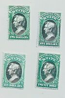 US Department of State Stamps - All Facsimile Reprints - 4 copies   A MUST SEE