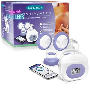 Lansinoh Smartpump 2.0 Double Electric Breast Pump Ultra Quiet Hospital Strength