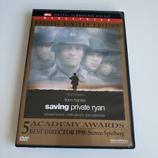 Saving Private Ryan Dvd Tom Hanks 1998 Widescreen Special Limited Edition