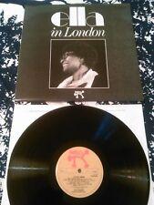 ELLA FITZGERALD - ELLA IN LONDON LP N. MINT!!! UK MONO PABLO 2310 711 SUPER