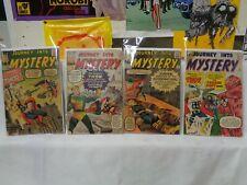 Journey Into Mystery LOT 90-95 (miss.#93,94) 1963 Marvel Comics (s 12317)