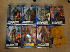 Hasbro G.I. Joe Classified 6 Inch Action Figures Lot of 7 NEW Figures + Throne