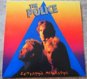 The Police Zeyetta Mondatta 1981 LP Vinyl Original SP-3720 Don't Stand So Close