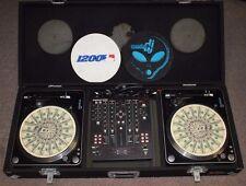 COMPLETE SET DJ EQUIPMENT(AMERICAN AUDIO MIXER MXR14, STANTON TURNTABLE T62B-NA)