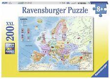 Ravensburger 12837 Politische Europakarte  200 Teile XXL Puzzle NEU OVP/