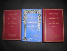 CERBELAUD Formulaire de Parfumerie  PARFUM PHARMACIE CHIMIE 3 Tomes COMPLET 1936