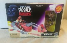 NEW 1996 star wars shadows of the empire swoop vehicle