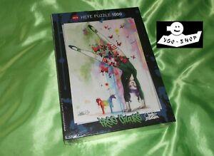 HEYE puzzle MINI UNICORN 1000 Teile FREE COLOURS Lora Zombie Einhorn handstand