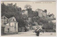 France postcard - Vendome - La Place du Chateau