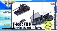 CMK 129-n72004 - U-Boot Tipo VII C exterior detalles i torre para Revell-kit-nuevo