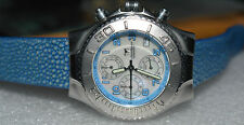 TECHNOMARINE TECHNOSPORT TMC11 CHRONOGRAPH WRISTWATCH-DATE, NEW GALUCHAT BAND