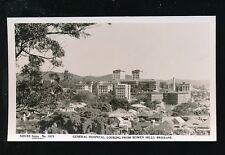 Australia BRISBANE General Hospital from Bowen Hills c1950s? RP PPC Sidues Ser.