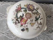 Mason's England zuppiera con coperchio vintage decoro fiori