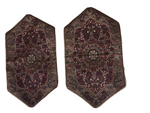 45x25 Cm Printed Persian Kitchen Runner Red - Threshold New