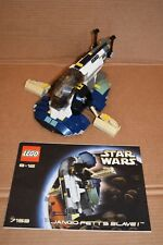 LEGO Star Wars Jango Fett's Slave 1 - 7153 – Used, with instr, no minifigures