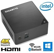 GIGABYTE Brix Mini-PC INTEL Quad 8-16GB DDR4 250GB-1TB SSD Win10 WLAN+BT 4K HTPC