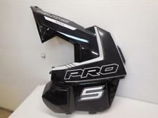 16 Poalris 800 Rush Pro S  L Side Panel black Pearl 5451230-666 RMK Axys 600 SB