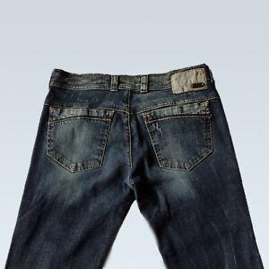 Womens DIESEL SOOZY Bootcut Stretch Jeans Size W28 L32 Regular Slim Dark Wash