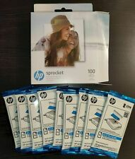 "HP Sprocket Zink Photo Paper 2"" x 3"", 50 sheets"
