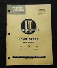 1959 JOHN DEERE 40 320 330 420 430 440 TRACTOR I&T SERVICE SHOP REPAIR MANUAL