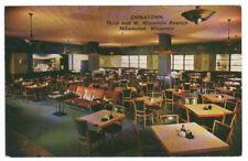 Chinatown Moy Toy Restaurant Interior Milwaukee Wisconsin 1960s postcard