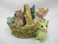 Whimsical World Of Pocket Dragons Gardening Basket Real Musgrave 2000/2001 NIB