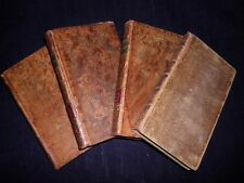 The Adventurer: John Hawkesworth-1778/1788-Georgian Fiction-Full 4 Volume Set