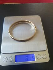 6.15 Grams Of Scrap nine carat Gold  Bangle