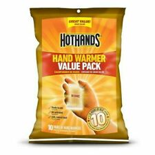 HotHands Hand Warmer 10 Pair Value Pack Piece - 10 Hour Chemical Packets 1/2023