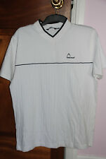 HEAD Men's Short Sleeve Sports T-Shirt, White V-neck Small New