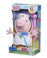 Peppa Pig Talking Nurse Peppa Soft Plush Toy & Accessories Toy Playset Doll