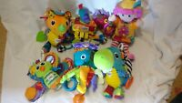 🤖 LAMAZE: Bundle of 6 items, pirate, knight, girl, dinosaurs and butterfly VGC